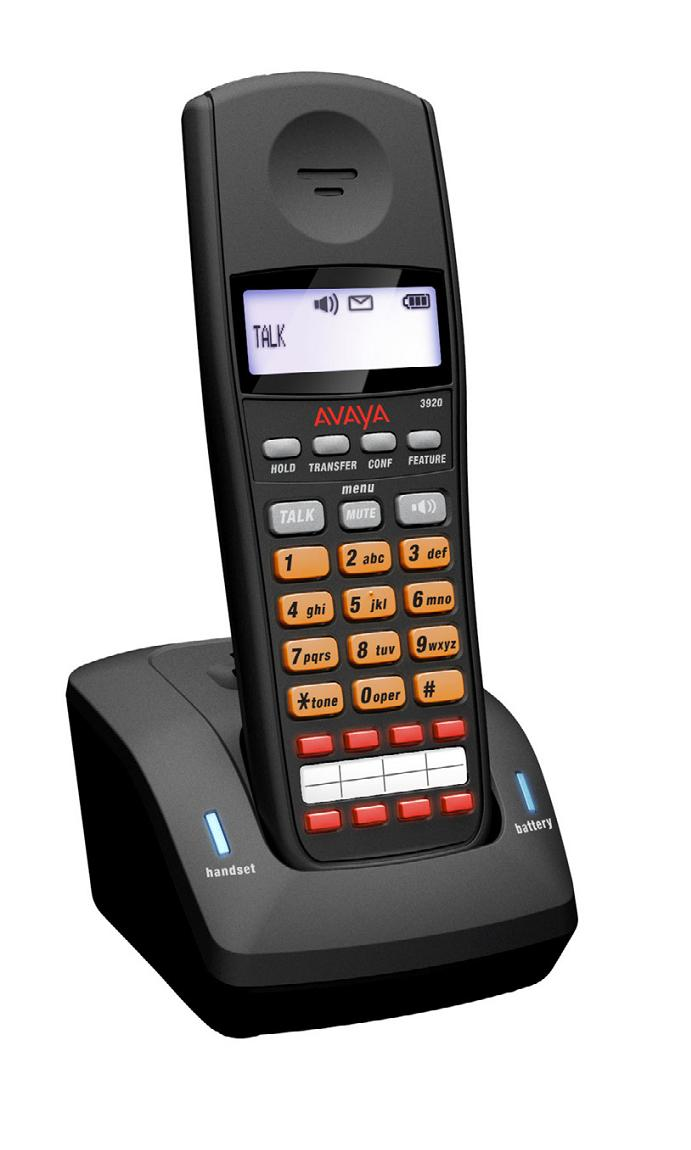 Avaya 3920 Dect Wireless Telephone