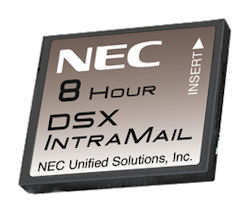 DSX IntraMail 2-Port/8-Hour Voice Mail